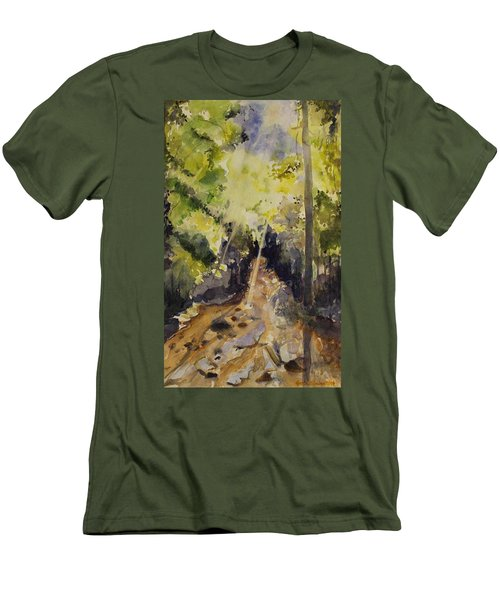 Sun Shines Through Men's T-Shirt (Athletic Fit)