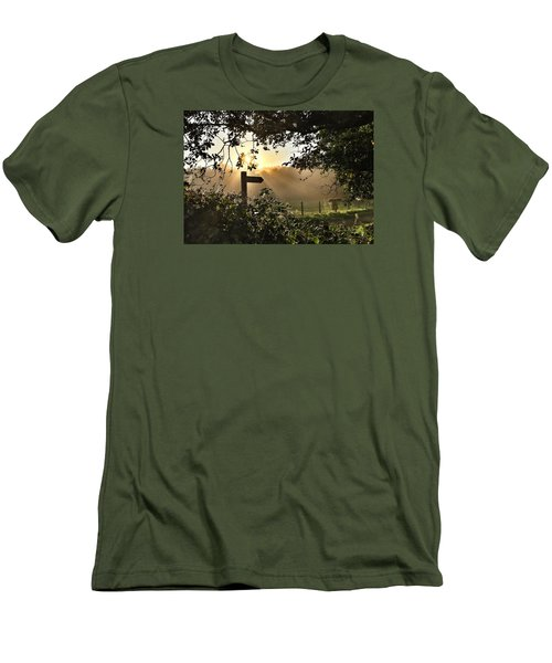 Men's T-Shirt (Slim Fit) featuring the photograph Sun Sign by RKAB Works