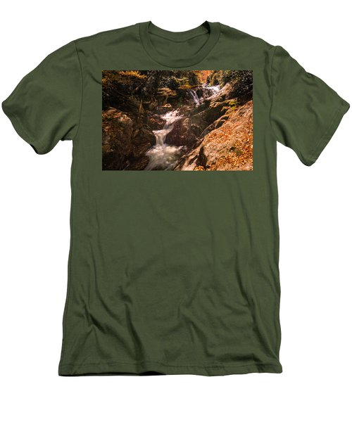 Sunburst Falls Men's T-Shirt (Athletic Fit)