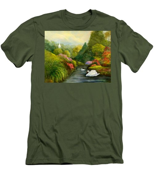 Sunday Afternoon Men's T-Shirt (Slim Fit) by Gail Kirtz
