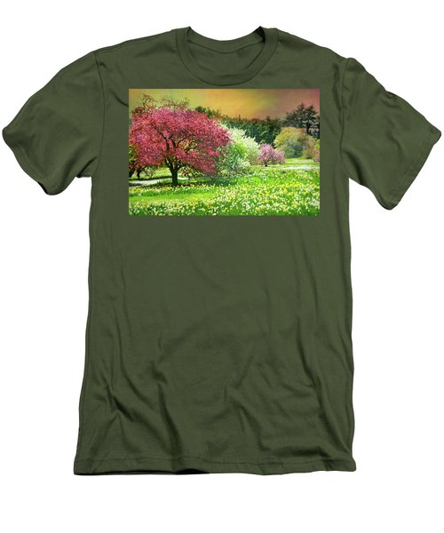 Men's T-Shirt (Slim Fit) featuring the photograph Sunday My Day by Diana Angstadt