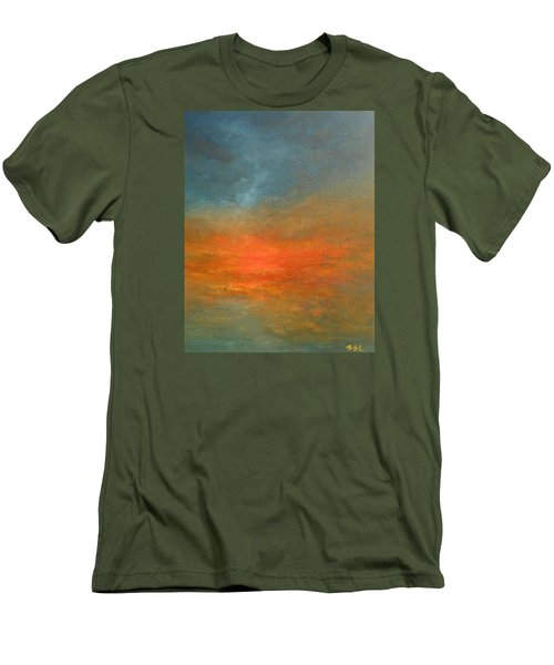 Sundown Men's T-Shirt (Slim Fit) by Jane See
