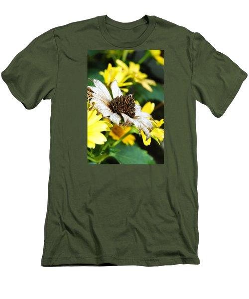 Sunflower Promise Men's T-Shirt (Slim Fit) by Margie Avellino