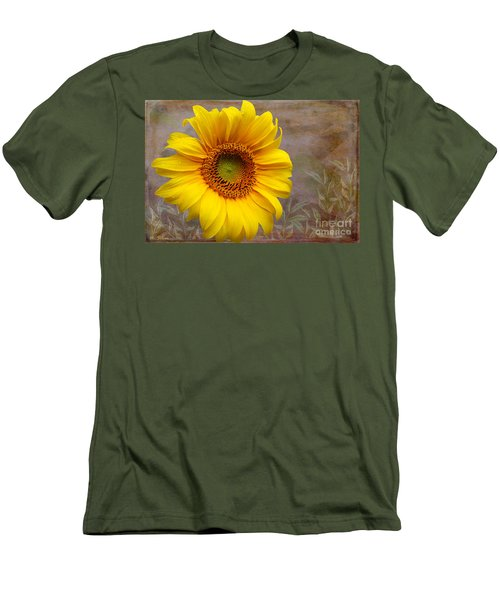 Sunflower Serenade Men's T-Shirt (Athletic Fit)