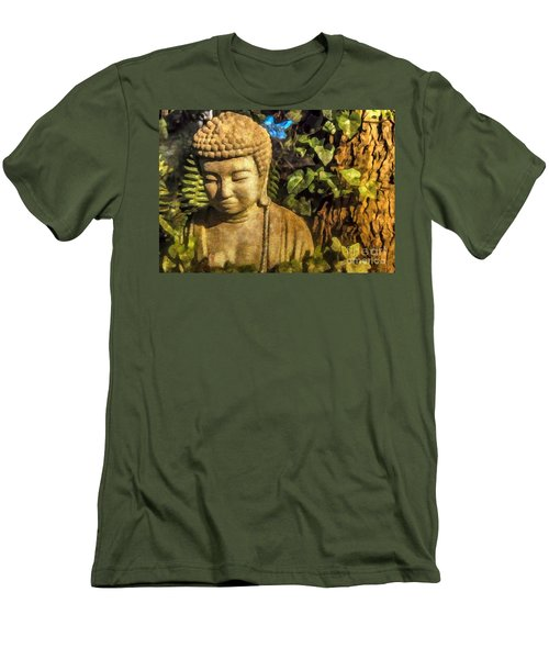 Sunlit Buddha 2015 Men's T-Shirt (Athletic Fit)