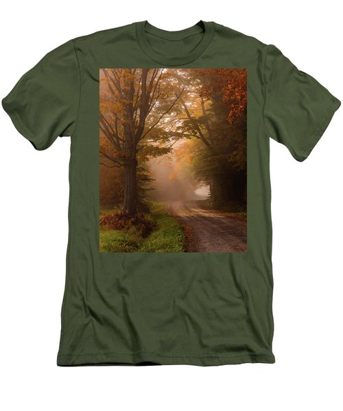 Serenity Of Fall Men's T-Shirt (Athletic Fit)