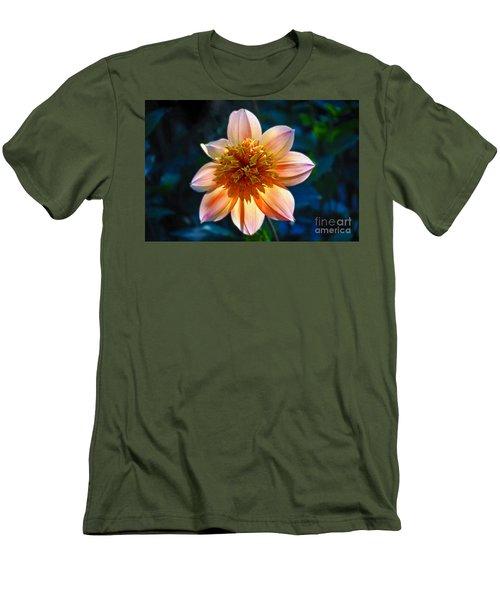 Sunlite Dahlia  Men's T-Shirt (Athletic Fit)