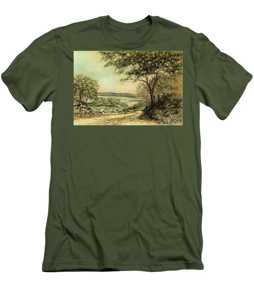 Sunny Bushveld Men's T-Shirt (Athletic Fit)