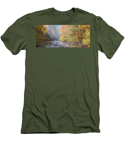Sunrise At Metcalf Bottoms Men's T-Shirt (Athletic Fit)