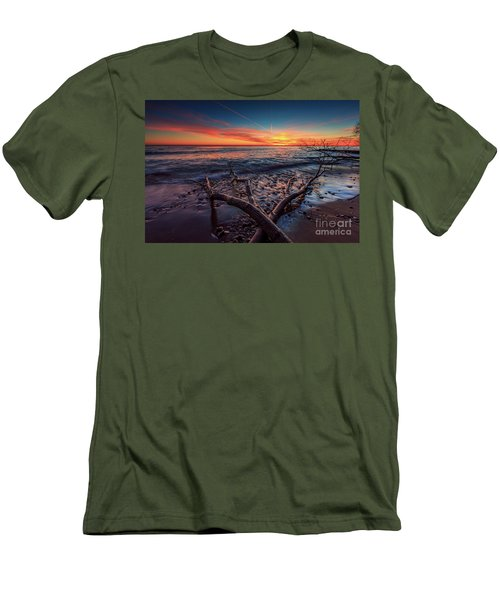 Sunrise Crossing  Men's T-Shirt (Athletic Fit)