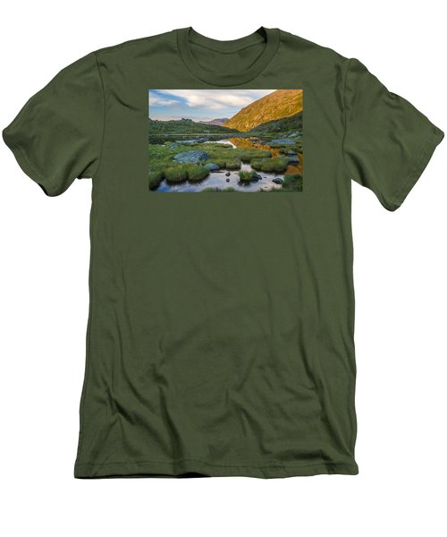 Sunrise From Star Lake Men's T-Shirt (Athletic Fit)
