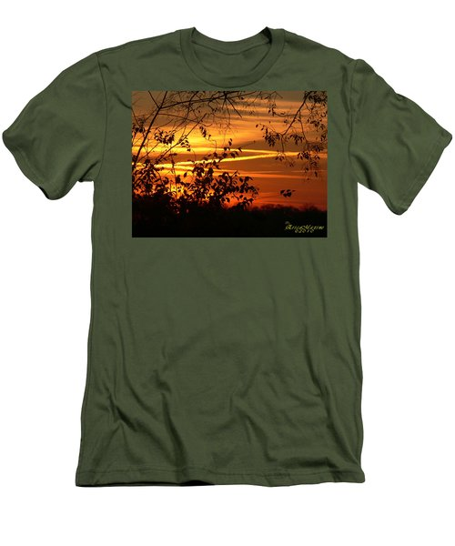 Sunrise In Tennessee Men's T-Shirt (Slim Fit) by EricaMaxine  Price