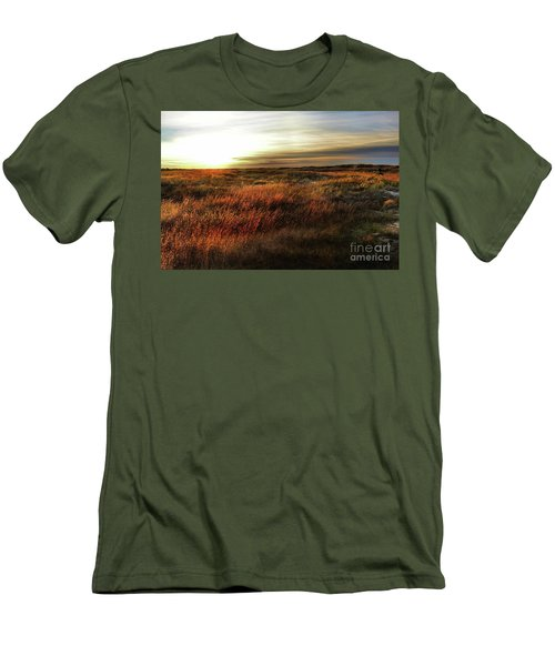 Sunrise Mexico Beach Men's T-Shirt (Athletic Fit)