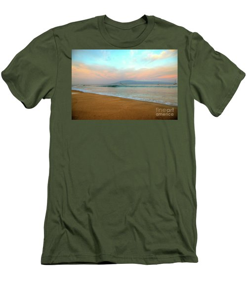 Sunrise On Ka'anapali Men's T-Shirt (Slim Fit) by Kelly Wade
