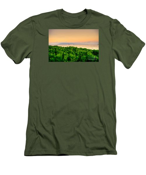 Sunrise On Maui Men's T-Shirt (Slim Fit) by Kelly Wade