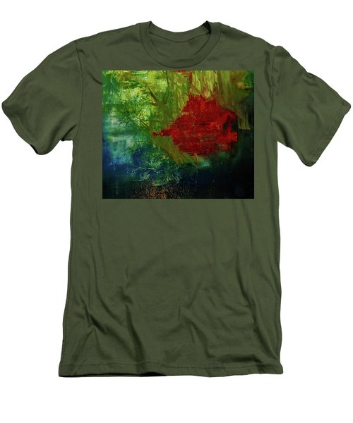 Sunrise On The Marsh Men's T-Shirt (Athletic Fit)
