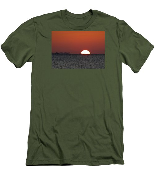 Sunrise Over The Bay 5x7 Men's T-Shirt (Athletic Fit)