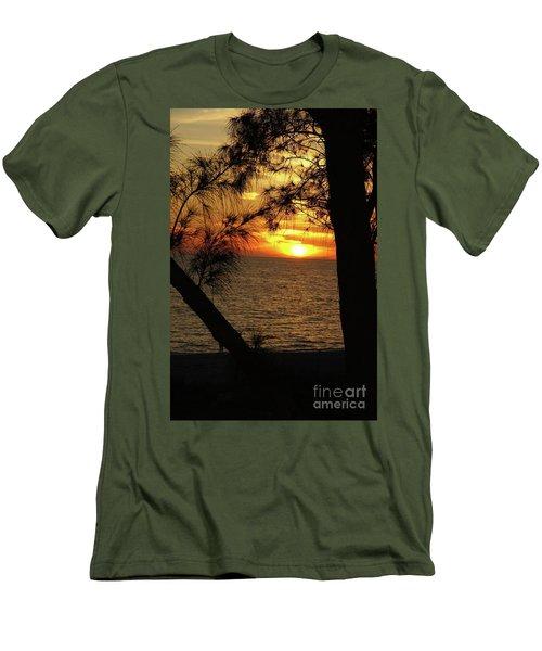 Sunset 1 Men's T-Shirt (Slim Fit) by Megan Cohen