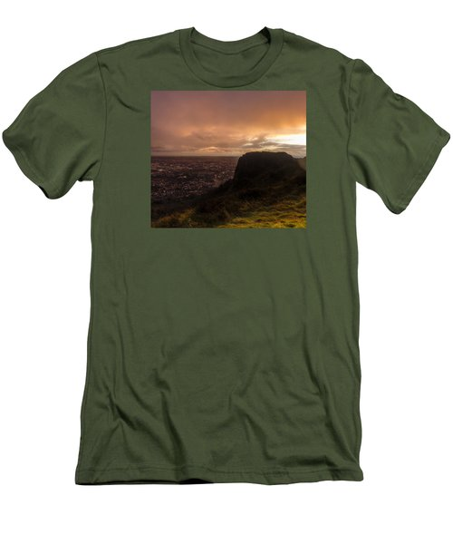Sunset At Cavehill Men's T-Shirt (Athletic Fit)