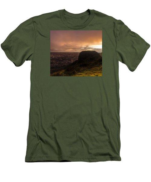 Sunset At Cavehill Men's T-Shirt (Athletic Fit)