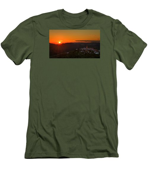Sunset At Padna Men's T-Shirt (Athletic Fit)