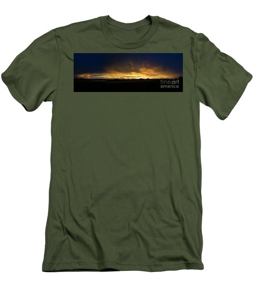 Men's T-Shirt (Slim Fit) featuring the photograph Sunset Clouds by Brian Jones