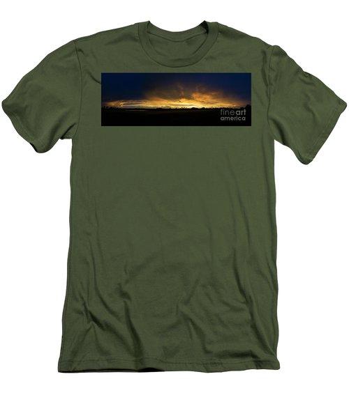 Sunset Clouds Men's T-Shirt (Slim Fit) by Brian Jones