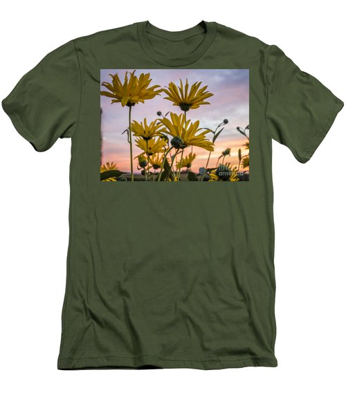 Sunset Delight Men's T-Shirt (Athletic Fit)