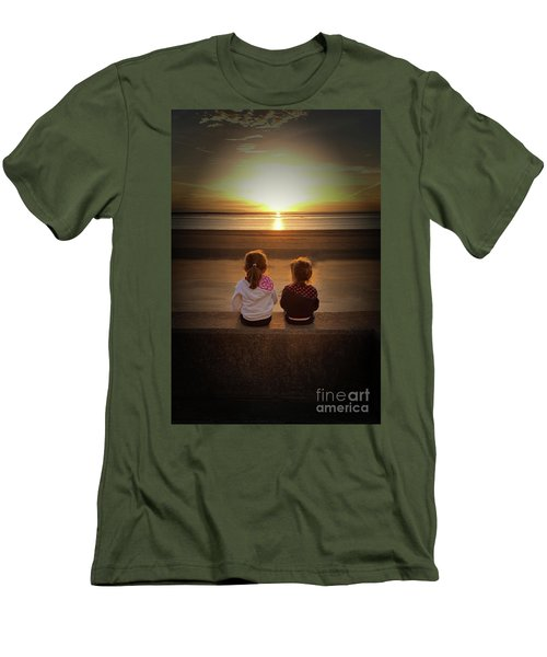 Sunset Sisters Men's T-Shirt (Athletic Fit)