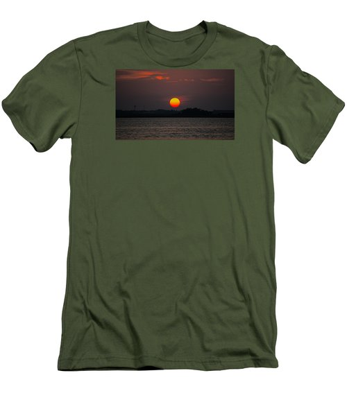 Sunset In Biloxi Men's T-Shirt (Athletic Fit)