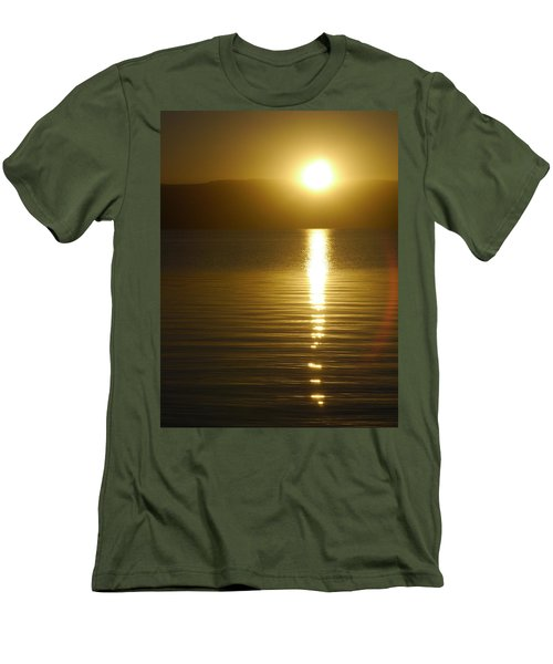 Sunset In January Men's T-Shirt (Athletic Fit)