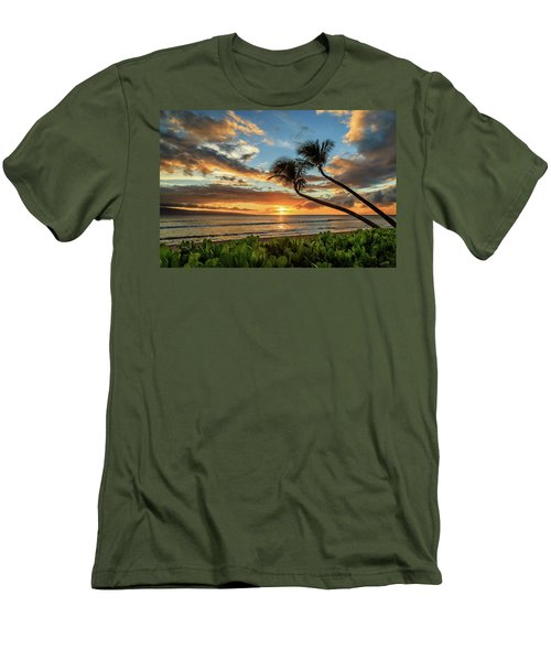 Men's T-Shirt (Athletic Fit) featuring the photograph Sunset In Kaanapali by James Eddy