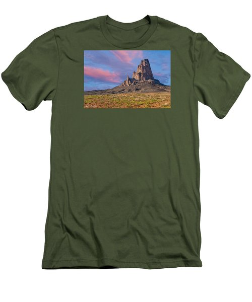Sunset On Agathla Peak Men's T-Shirt (Athletic Fit)