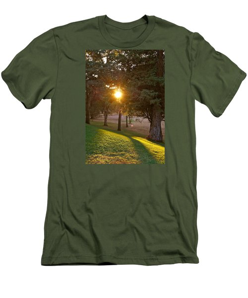 Sunset Retreat Men's T-Shirt (Athletic Fit)