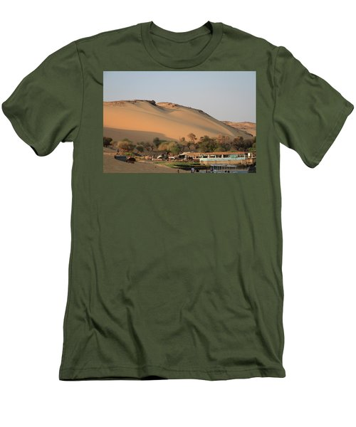 Sunset Men's T-Shirt (Slim Fit) by Silvia Bruno