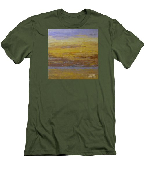 Sunset Storm Clouds Men's T-Shirt (Athletic Fit)