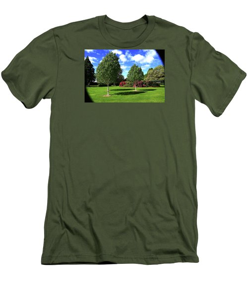 Sunshine And Shadows Men's T-Shirt (Athletic Fit)