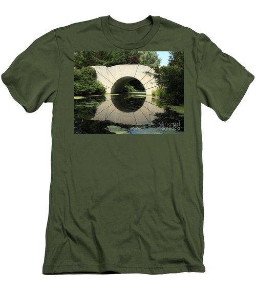 Sunshine Bridge 4 Men's T-Shirt (Slim Fit) by Erick Schmidt