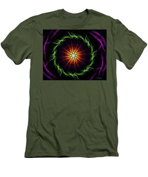 Sunstar Men's T-Shirt (Slim Fit) by Jennifer Galbraith