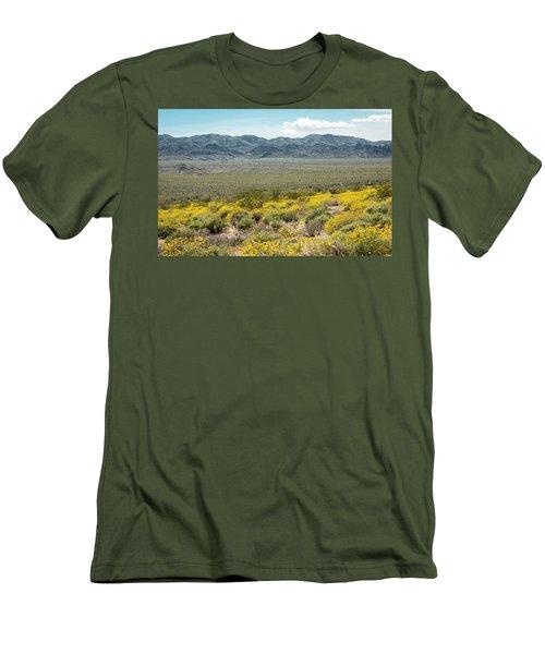 Superbloom Paradise Men's T-Shirt (Slim Fit) by Amyn Nasser
