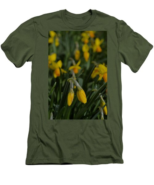 Sure Enough Spring Men's T-Shirt (Slim Fit) by Tim Good