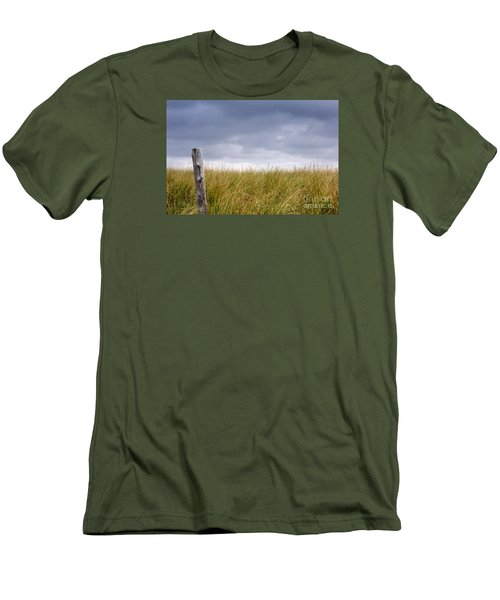 Men's T-Shirt (Slim Fit) featuring the photograph That That Same Small Town In Each Of Us by Dana DiPasquale