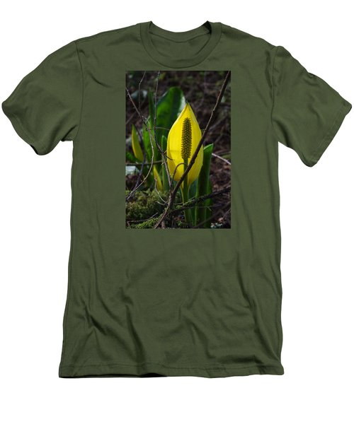 Swamp Lantern Men's T-Shirt (Slim Fit) by Adria Trail