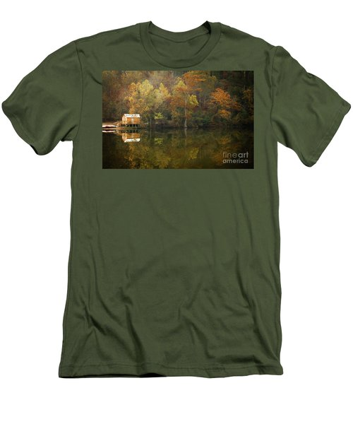 Men's T-Shirt (Slim Fit) featuring the photograph Sweet Home by Iris Greenwell
