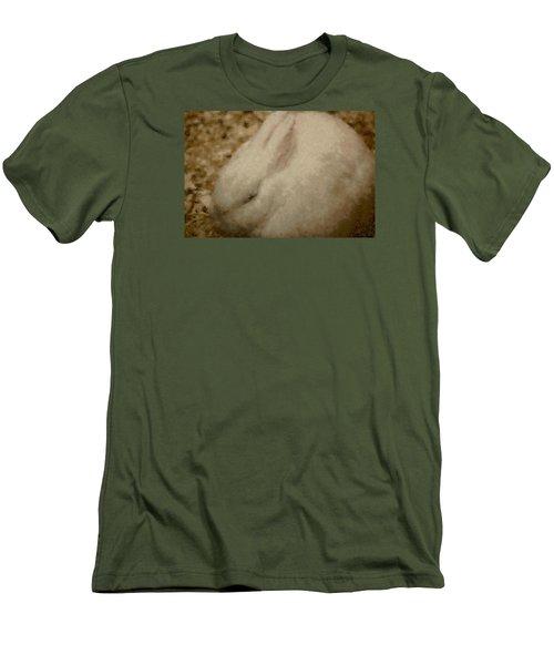 Sweet Marshmallow Men's T-Shirt (Slim Fit) by The Art Of Marilyn Ridoutt-Greene