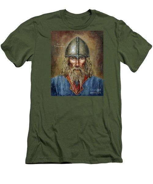 Sweyn Forkbeard Men's T-Shirt (Slim Fit) by Arturas Slapsys