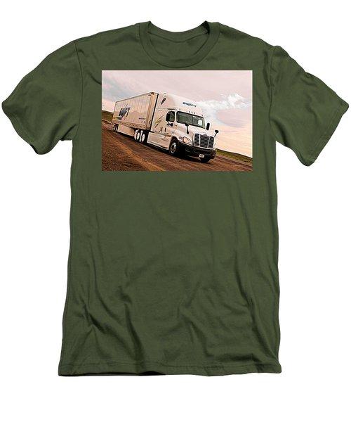 Swift Digital Art Painting #2b Men's T-Shirt (Athletic Fit)