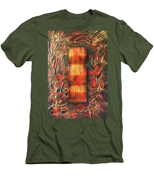 Switch Men's T-Shirt (Slim Fit) by Angela Stout