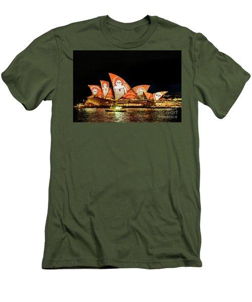 Ochre On Opera Men's T-Shirt (Athletic Fit)