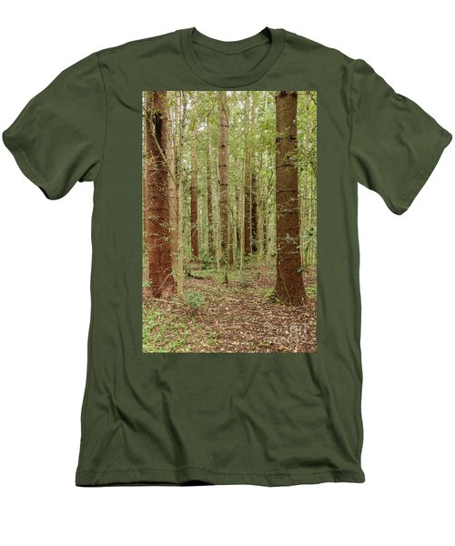 Men's T-Shirt (Athletic Fit) featuring the photograph Sylvan Beauty by Werner Padarin